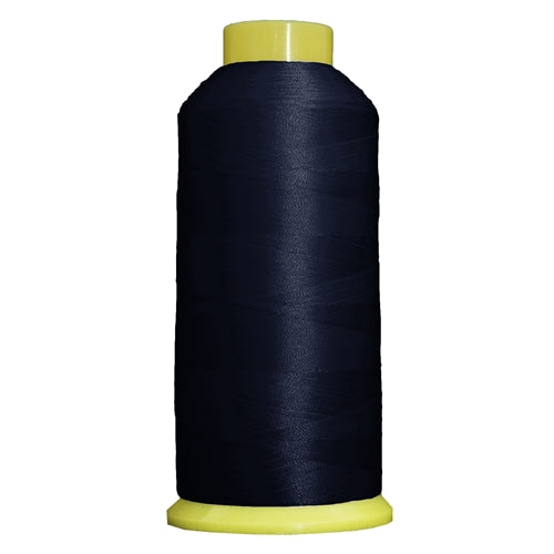 Large Polyester Embroidery Thread No. 235 - Med Navy- 5000 M - Threadart.com