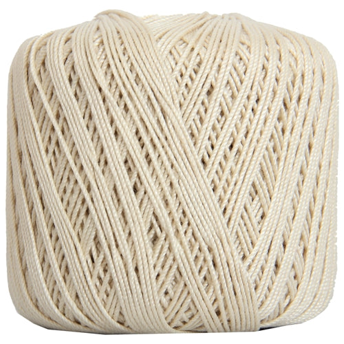 Cotton Crochet Thread - Size 3 - Natural- 140 yds - Threadart.com