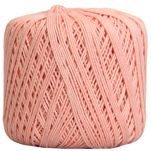 Cotton Crochet Thread - Size 3 - Lt. Pink- 140 yds - Threadart.com