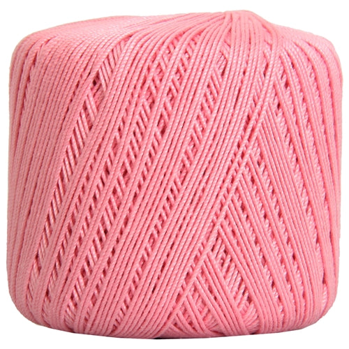 Cotton Crochet Thread - Size 3 - Mauve- 140 yds - Threadart.com