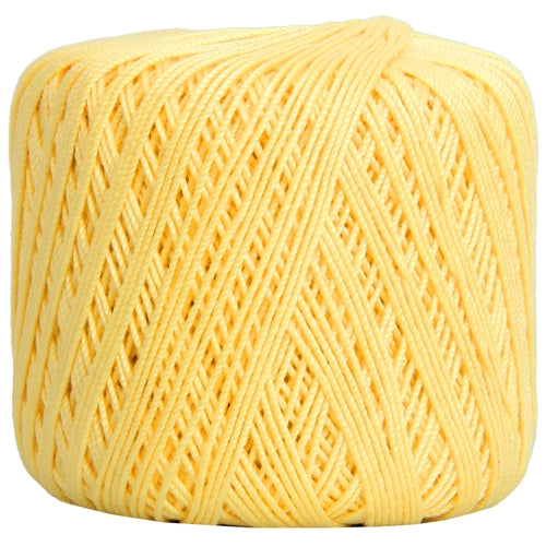 Cotton Crochet Thread - Size 3 - Lemonade- 140 yds