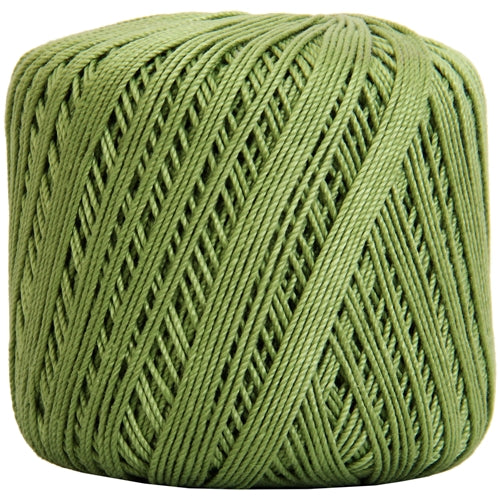 Cotton Crochet Thread - Size 3 - Avocado- 140 yds - Threadart.com