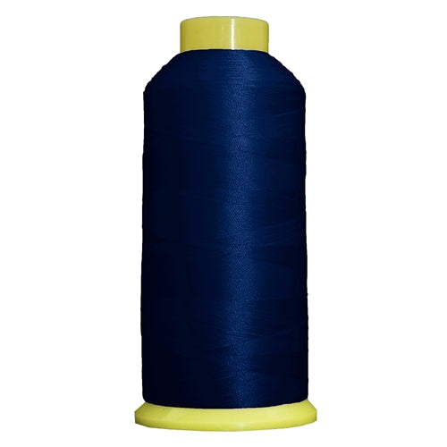 Large Polyester Embroidery Thread No. 250 - Blue - 5000 M - Threadart.com