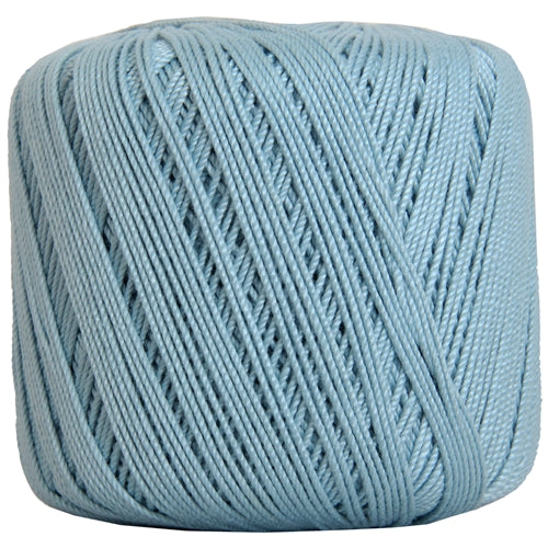 Cotton Crochet Thread - Size 3 - Lt. Blue- 140 yds - Threadart.com