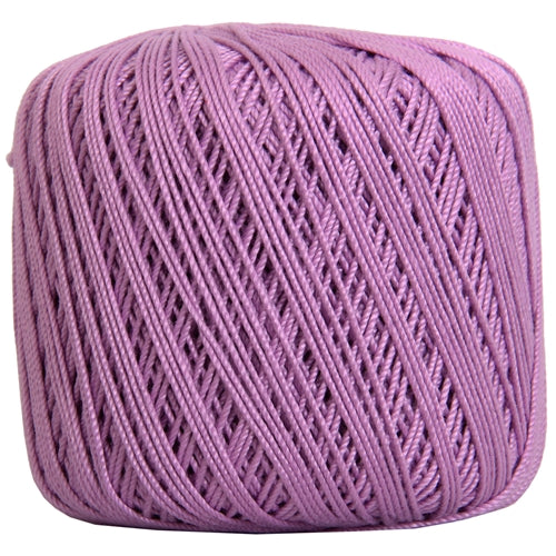 Cotton Crochet Thread - Size 3 - Lilac- 140 yds