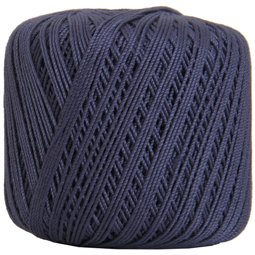 Cotton Crochet Thread - Size 3 - Navy- 140 yds - Threadart.com