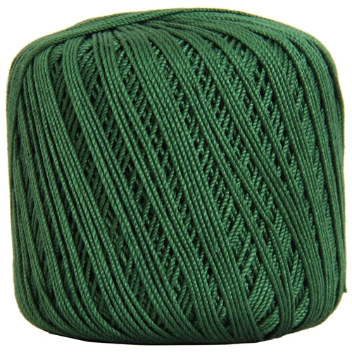 Cotton Crochet Thread - Size 3 - Holly Green- 140 yds - Threadart.com