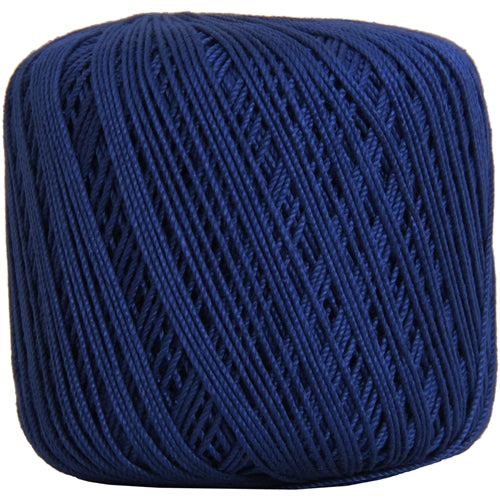 Cotton Crochet Thread - Size 3 - Blue- 140 yds - Threadart.com