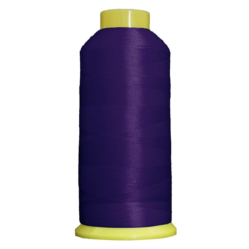 Large Polyester Embroidery Thread No. 272 - Deep Purple- 5000 M - Threadart.com