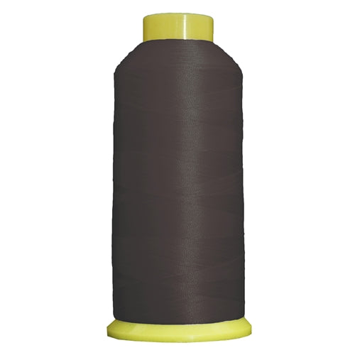 Large Polyester Embroidery Thread No. 330 - Pewter - 5000 M - Threadart.com