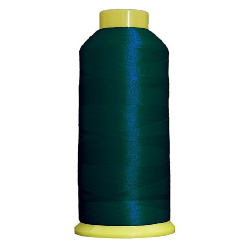 Large Polyester Embroidery Thread No. 375 - Green Bay - 5000 M - Threadart.com