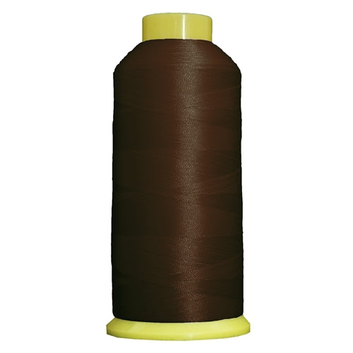 Large Polyester Embroidery Thread No. 425 - Dk Brown - 5000 M - Threadart.com