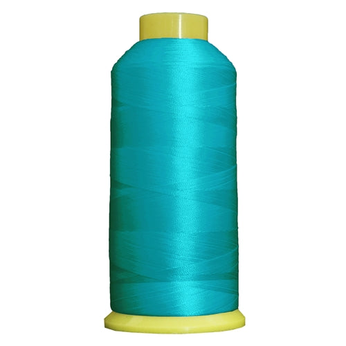 Large Polyester Embroidery Thread No. 464 - Turquoise - 5000 M - Threadart.com