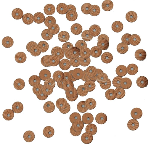 HotFix Loose Sequins - 4MM Brown Metallic - Threadart.com