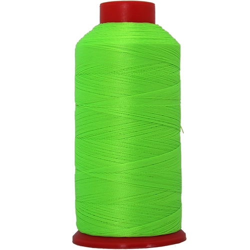 Bonded Nylon Thread - 1500 Meters - #69 - Neon Green - Threadart.com