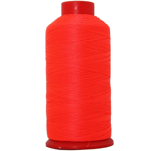 Bonded Nylon Thread - 1500 Meters - #69 - Neon Flamingo - Threadart.com