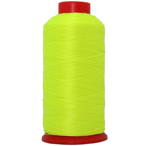 Bonded Nylon Thread - 1500 Meters - #69 - Neon Yellow - Threadart.com