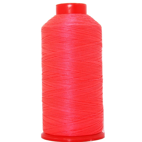 Bonded Nylon Thread - 1500 Meters - #69 - Neon Pink - Threadart.com