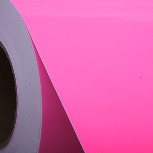 "Pink Self Adhesive Sign Vinyl Film 24"" - By The Yard - Threadart.com"
