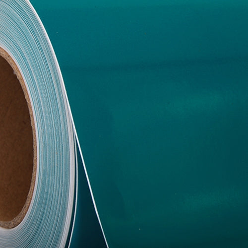"Teal Self Adhesive Sign Vinyl Film 24"" - By The Yard - Threadart.com"