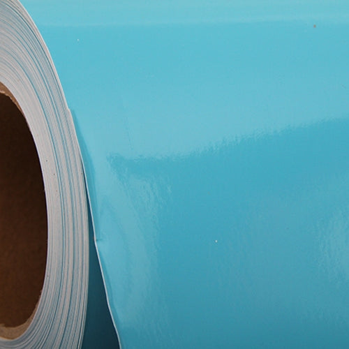 "Light Blue Self Adhesive Sign Vinyl Film 24"" - By The Yard - Threadart.com"