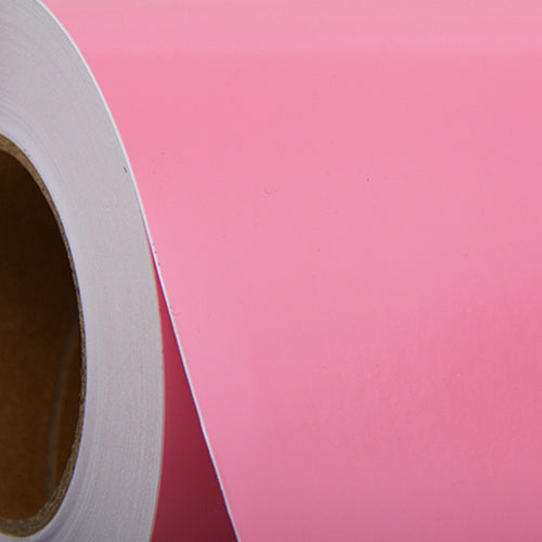 "Soft Pink Self Adhesive Sign Vinyl Film 24"" - By The Yard - Threadart.com"