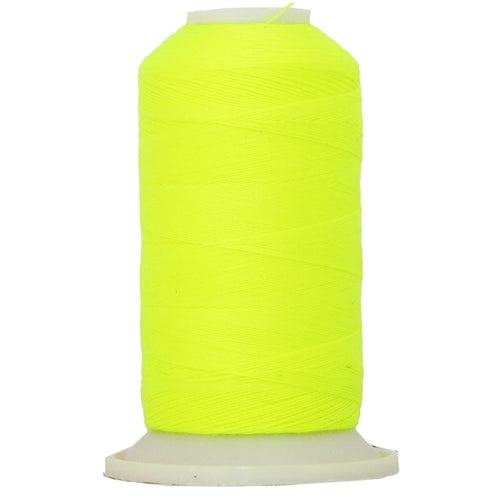 All-Purpose Polyester Sewing Thread No. 823 - 600m - Neon Yellow - Threadart.com