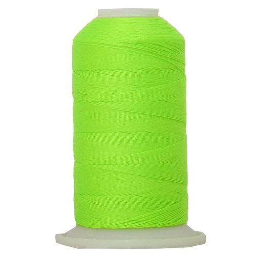 All-Purpose Polyester Sewing Thread No. 950 - 600m - Neon Green - Threadart.com