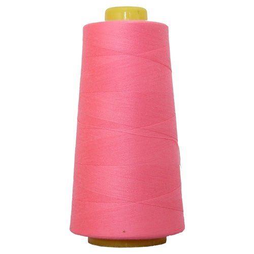 Polyester Serger Thread - Neon Flamingo 909 - 2750 Yards - Threadart.com