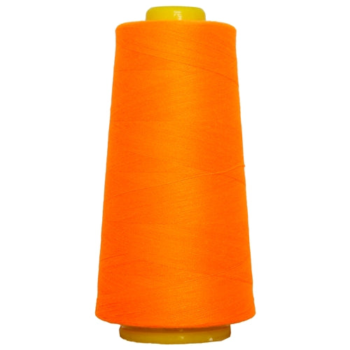 Polyester Serger Thread - Neon Orange 946 - 2750 Yards - Threadart.com