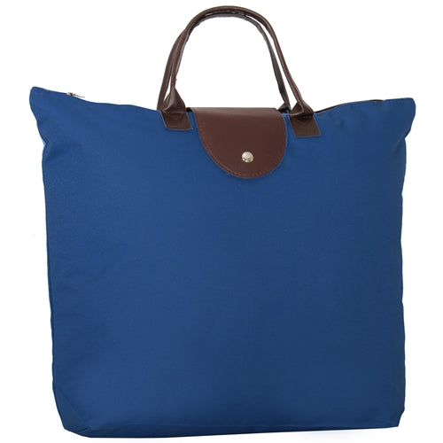 Foldable Shopping Bag Oxford - Royal Blue - Threadart.com