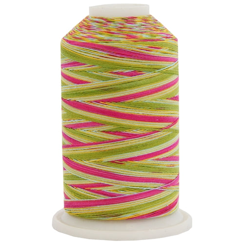 Multicolor Variegated Cotton Thread 600M - Lollipop - Threadart.com