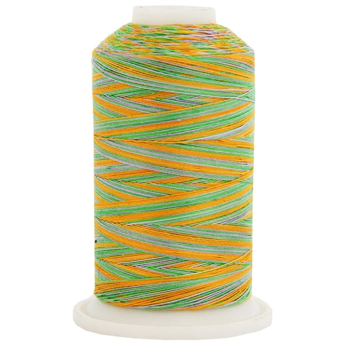 Multicolor Variegated Cotton Thread 600M - Fields - Threadart.com