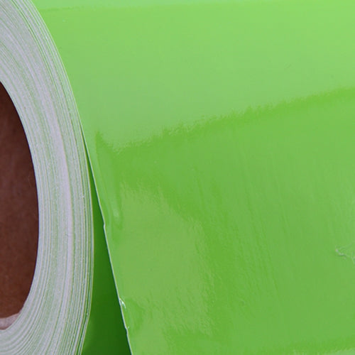 Lime Green Self Adhesive Sign Vinyl Film 24 inches - By The Yard - Threadart.com