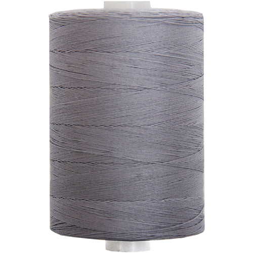 Cotton Quilting Thread - Lt. Steel - 1000M- 50 Wt. - Threadart.com