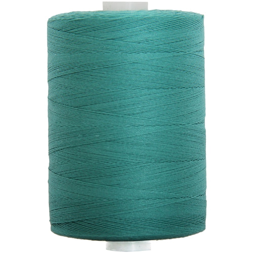 Cotton Quilting Thread - Teal - 1000M- 50 Wt. - Threadart.com