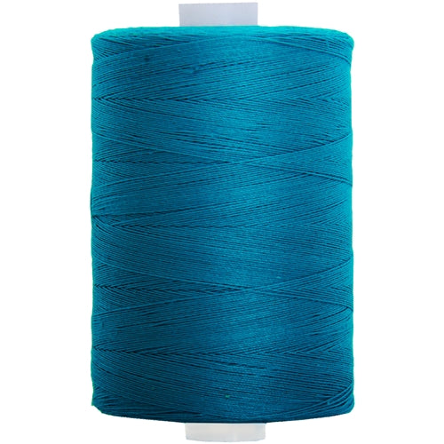 Cotton Quilting Thread - Bright Turquoise - 1000M- 50 Wt. - Threadart.com