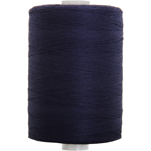 Cotton Quilting Thread - Dk. Navy - 1000M- 50 Wt. - Threadart.com