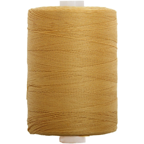 Cotton Quilting Thread - Old Gold - 1000M- 50 Wt. - Threadart.com