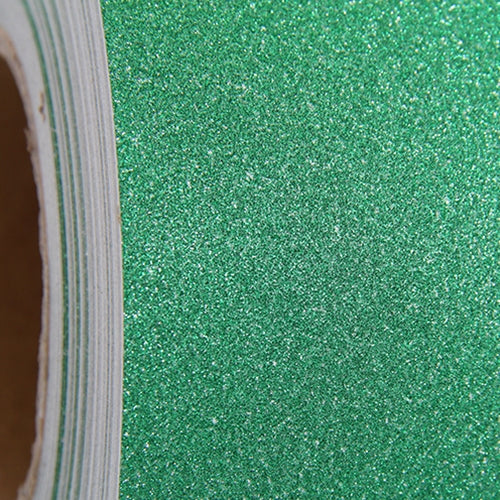 "Glitter Green Self Adhesive Sign Vinyl 12"" x 36"" - By The Yard - Threadart.com"
