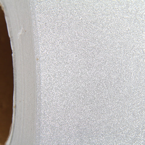 "Glitter Silver Self Adhesive Sign Vinyl 12"" x 36"" - By The Yard - Threadart.com"