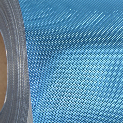 Embossed Blue Metallic 20 inches Heat Transfer Vinyl Film By The Yard - Threadart.com