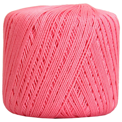 Cotton Crochet Thread - Size 3 - Pink- 140 yds