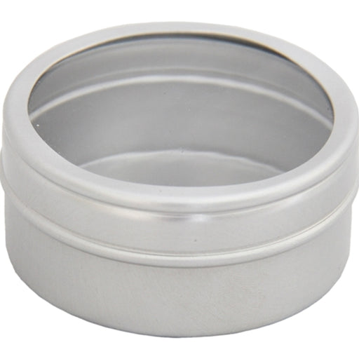 Round Aluminum Storage Tin for Sequins & Rhinestones - 20G - Threadart.com