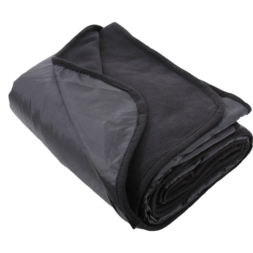 "Pack of 3 Waterproof Picnic Blanket - 79""x55"" - Black - Camping, Sports - Threadart.com"