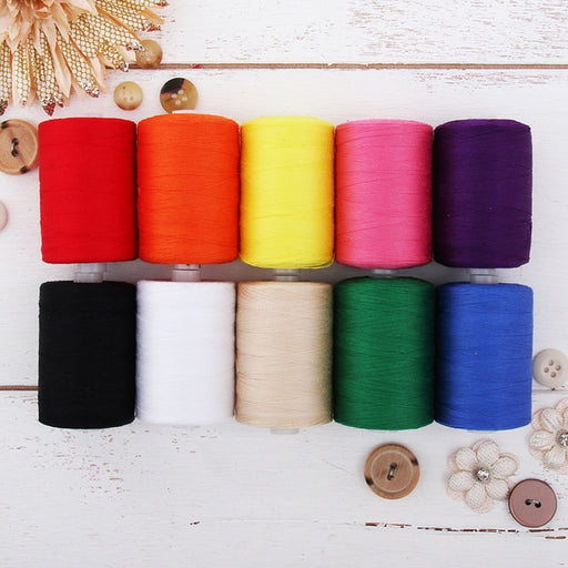 Cotton Quilting Thread Set - 10 Essential Tones - 1000 Meters - Threadart.com