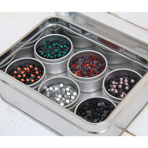 Hot Fix Rhinestone Set In 6 Halloween Colors - SS10 - Threadart.com