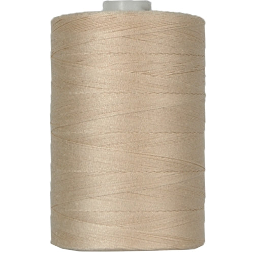 Cotton Quilting Thread - Natural - 1000 Meters - 50 Wt. - Threadart.com
