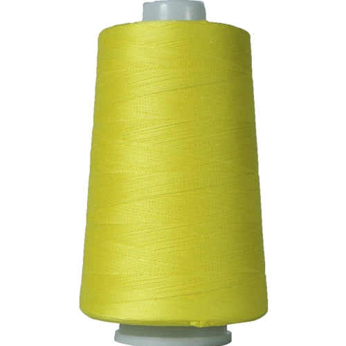 Heavy Duty Cotton Quilting Thread - Yellow - 2500 Meters - 40 Wt. - Threadart.com