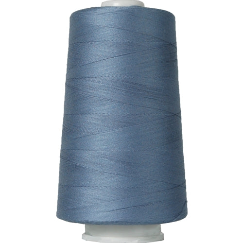 Heavy Duty Cotton Quilting Thread - Denim Blue - 2500 Meters - 40 Wt. - Threadart.com